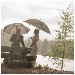 Kan være vakkert med regn også